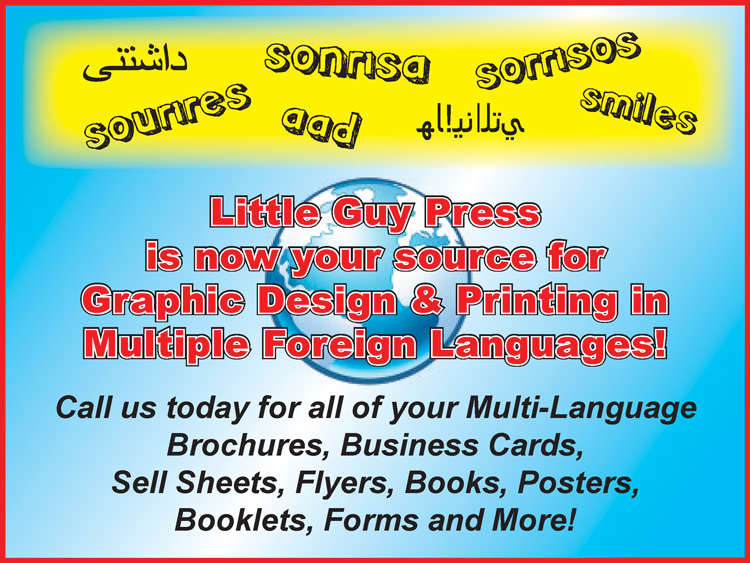 Foreign Language Graphics & Printing