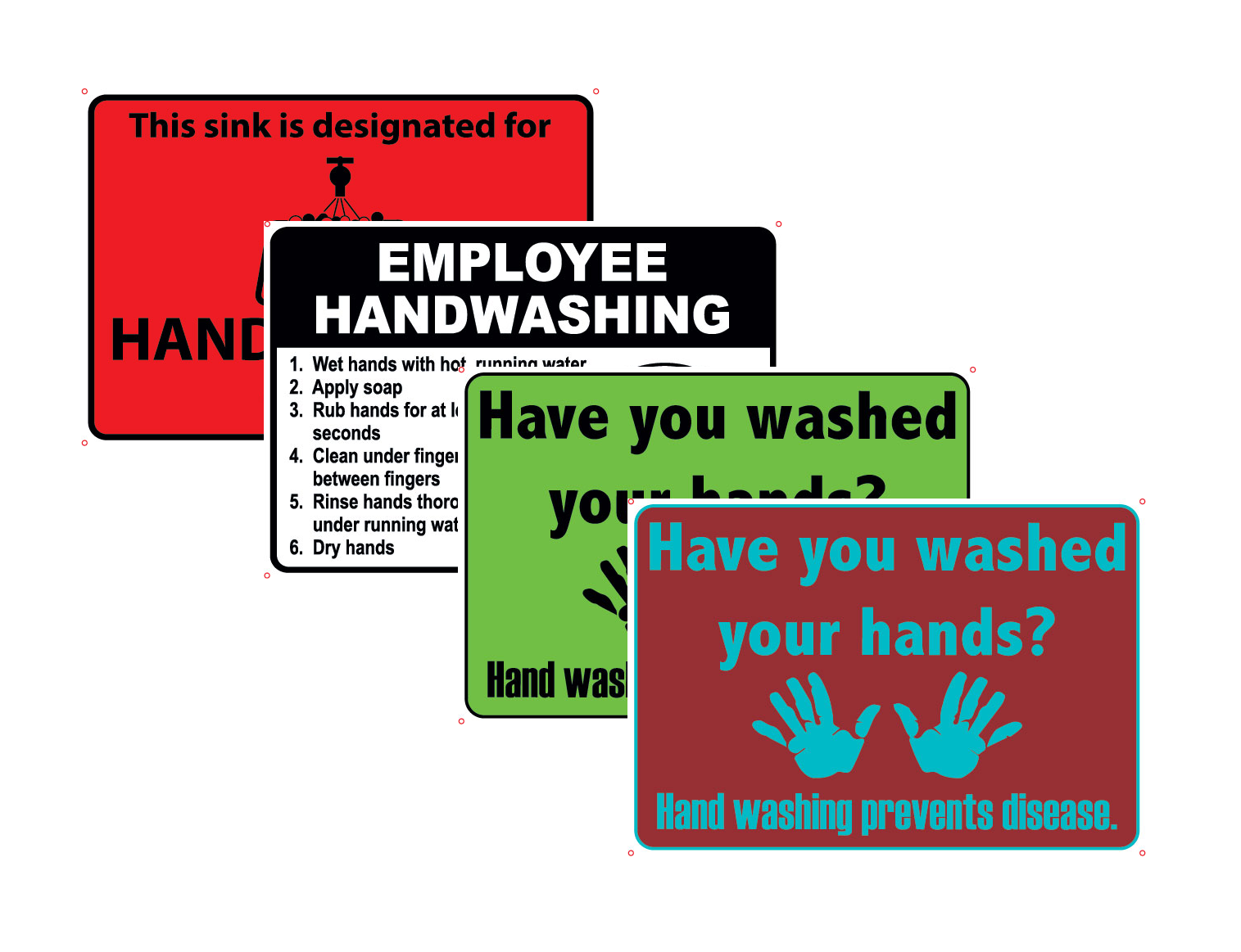 Handwashing Signs
